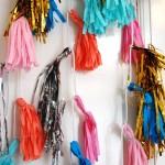 DIY fringe garland