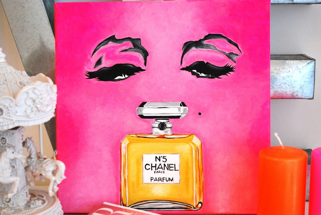 chanel hot pink