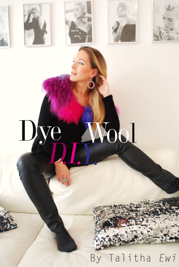 diy dye wool all black outfit talitha ewi huta galung