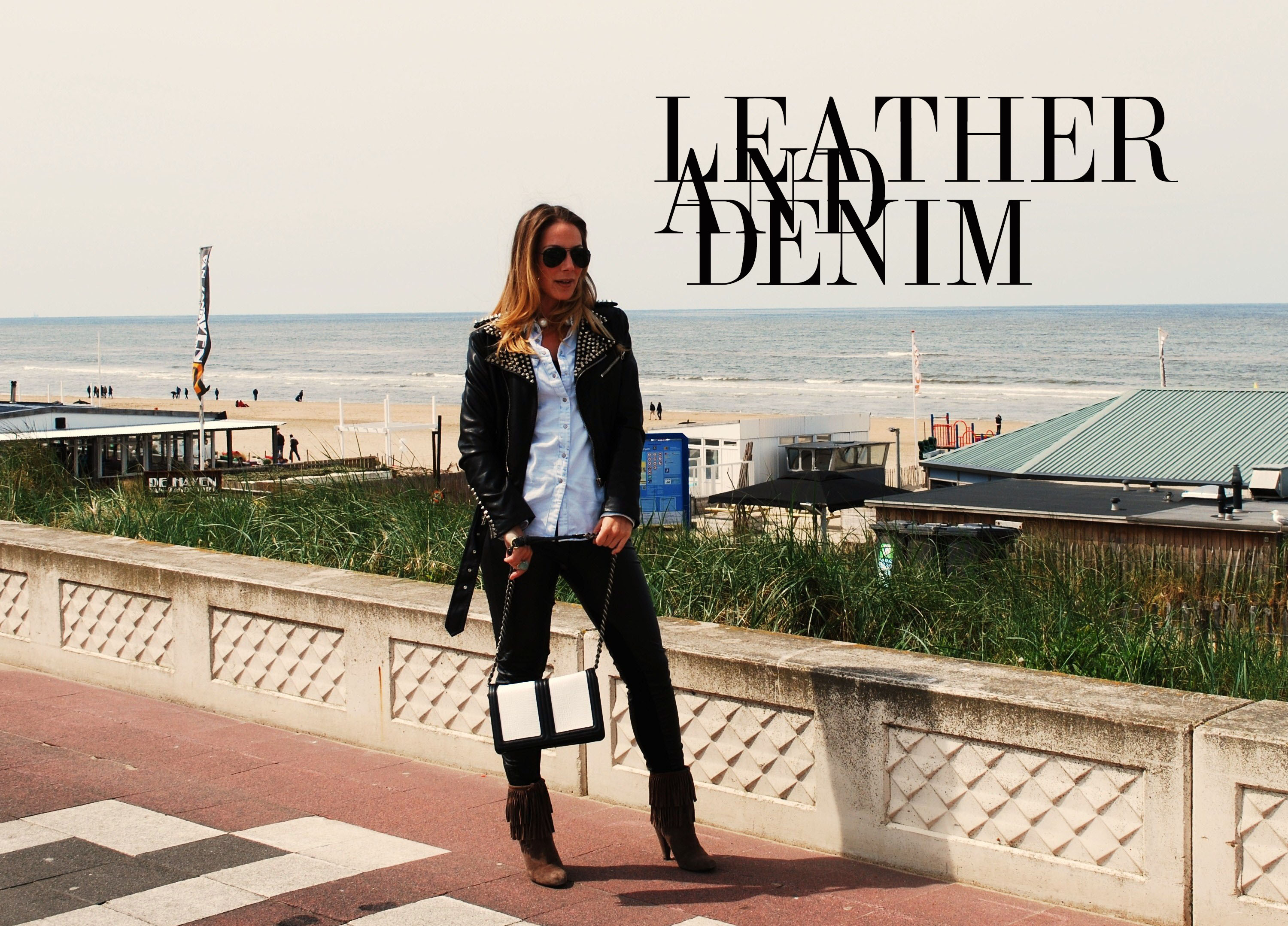 leather and denim 1