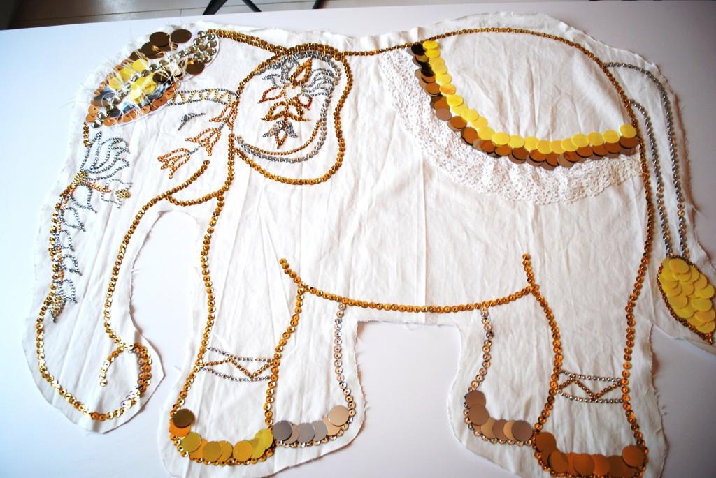 DIY indian elephant